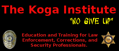 Education and Training for Law Enforcement, Corrections, and Security Professionals